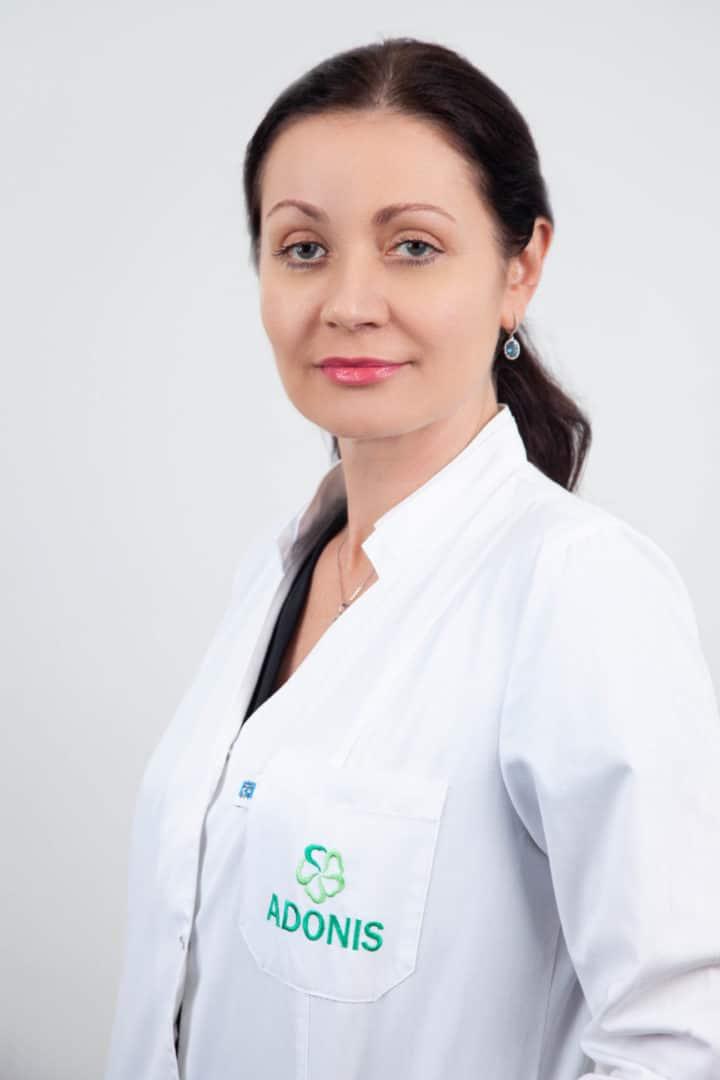 Врач дерматолог, косметолог Николаеа Жанна в Киеве