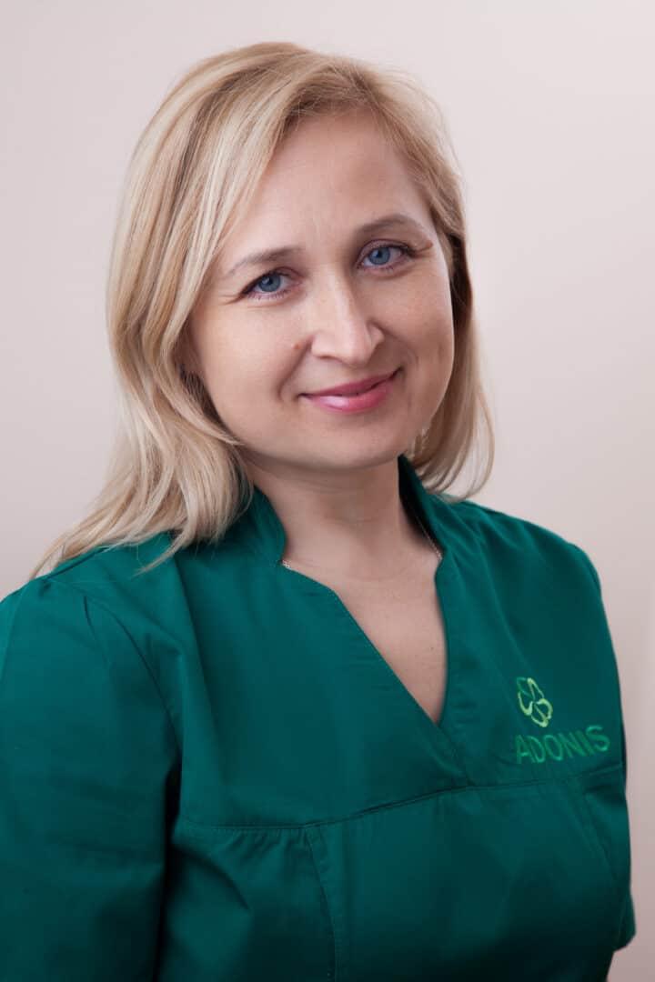 Врач-отоларинголог Грищенко Наталья в Киеве - ADONIS