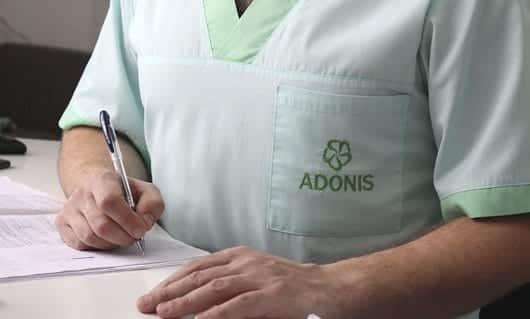 Подписание декларации с семейным врачом в ADONIS