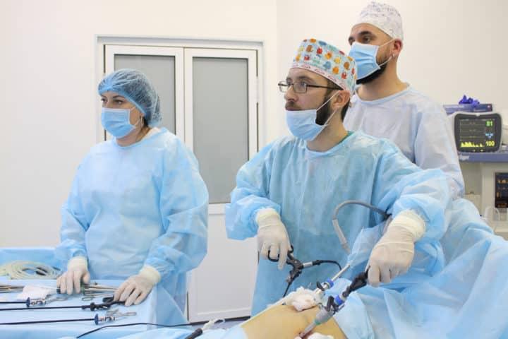 Лапароскопическая хирургия в Киеве