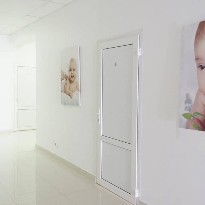коридоры и палаты ADONIS