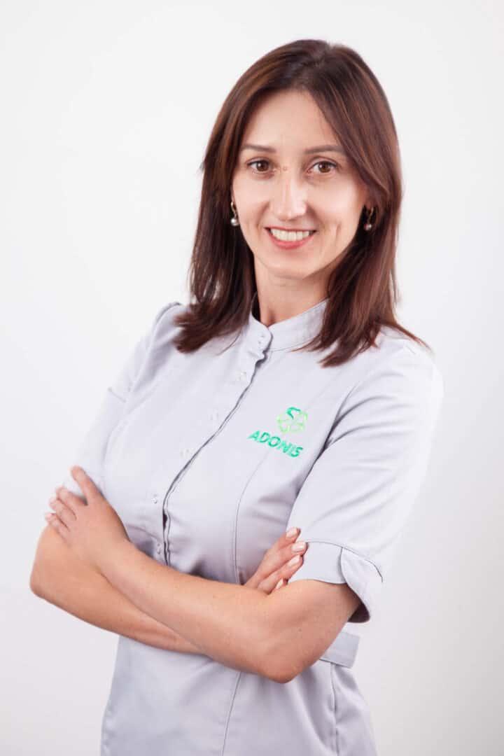 Врач акушер-гинеколог роддома ADONIS Сазонова Марина Александровна
