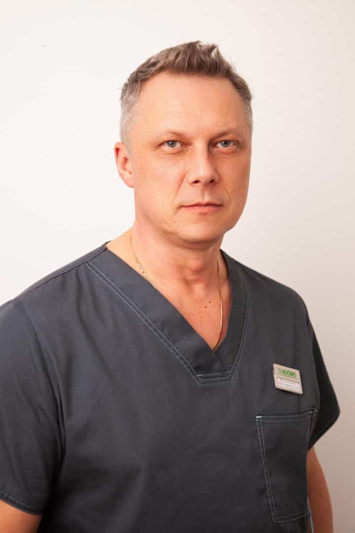 Врач-хирург ADONIS Стусик Юрий Романович, Киев.
